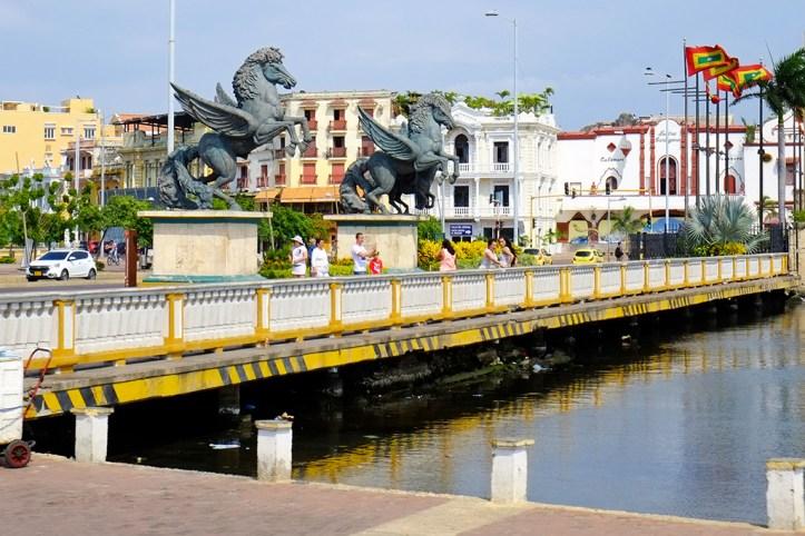 Pegasus near Torre de Reloj