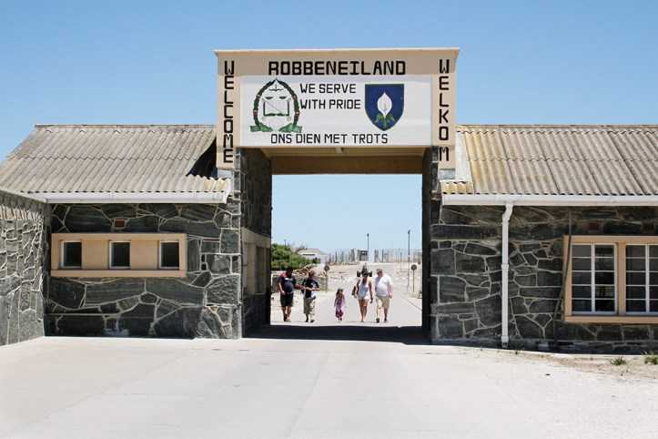 The entrance to the Robben Island