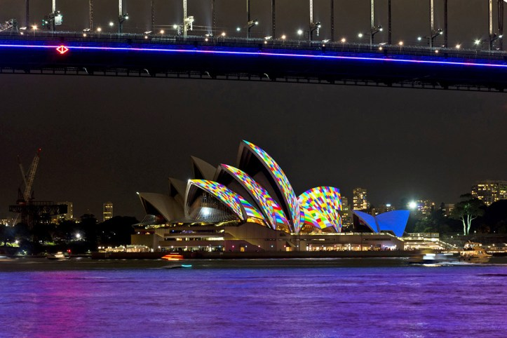 Opera house at Night, Sydney