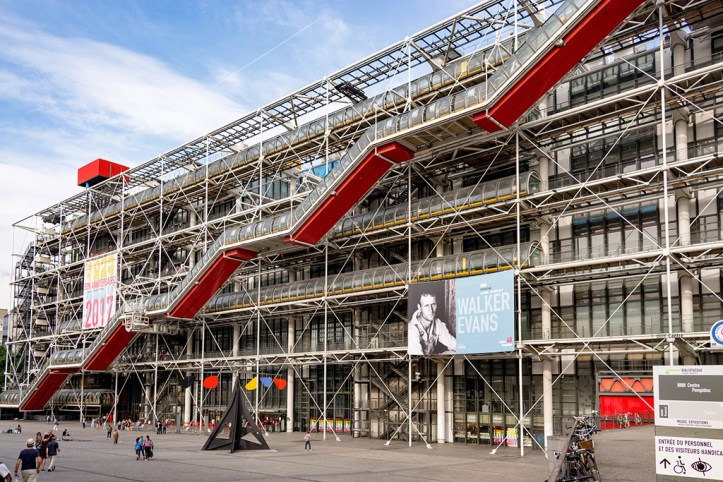 Pompidou Center, Paris