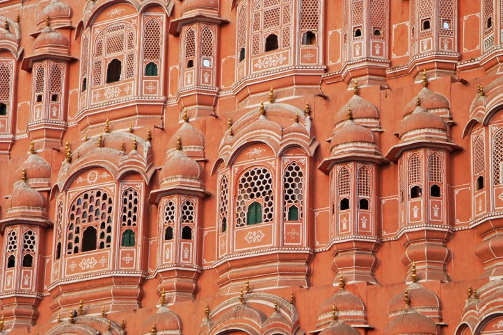 The Palace of the Winds Detail, Jaipur