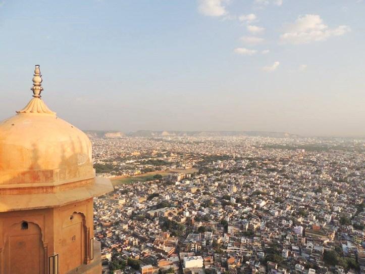 The city of Jaipur
