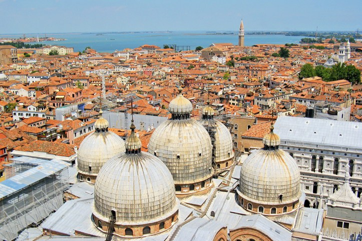 Venice as seen from the Campanile