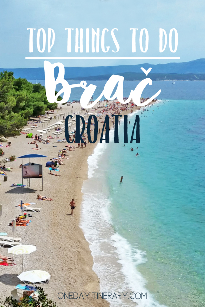 Brac Croatia Top things to do