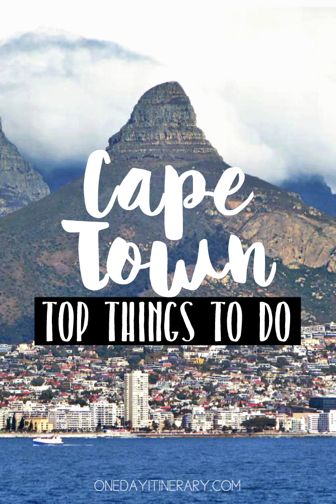 Cape Town South Africa Top things to do