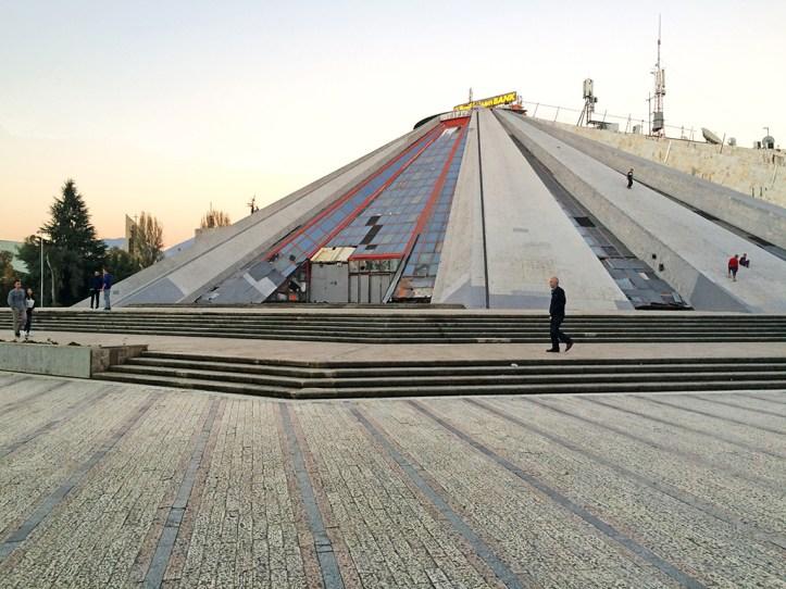Hoxha Pyramid Tirana