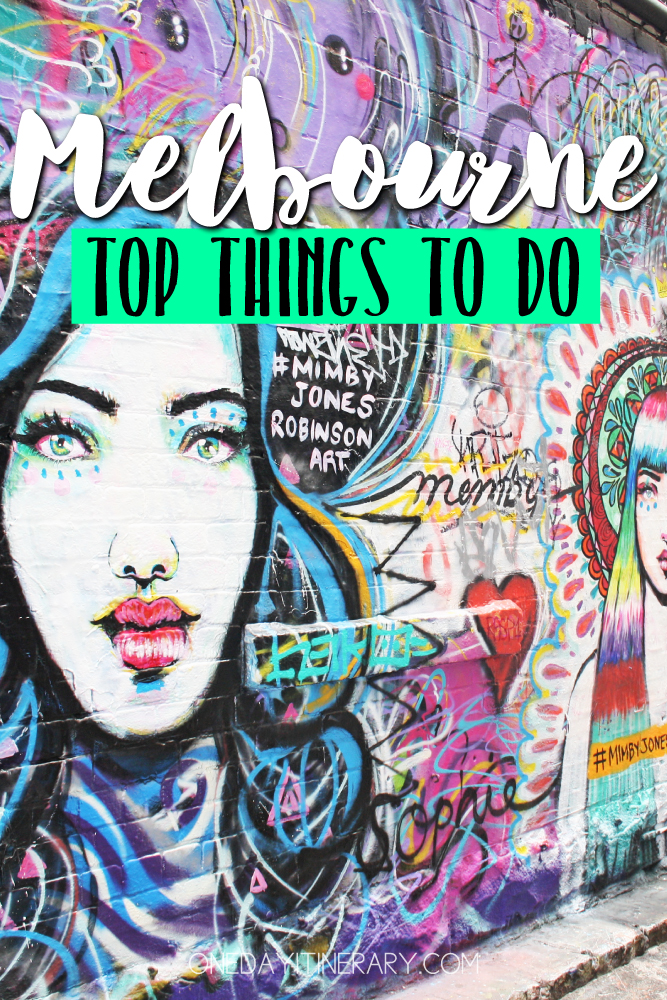 Melbourne Australia Top things to do