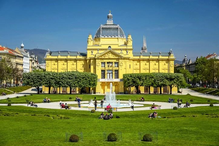 Zrinjevac Park, Zagreb