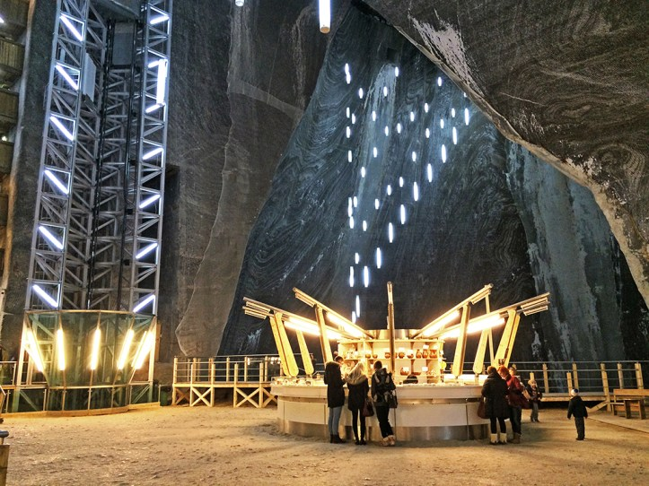 Salt Mine in Romania