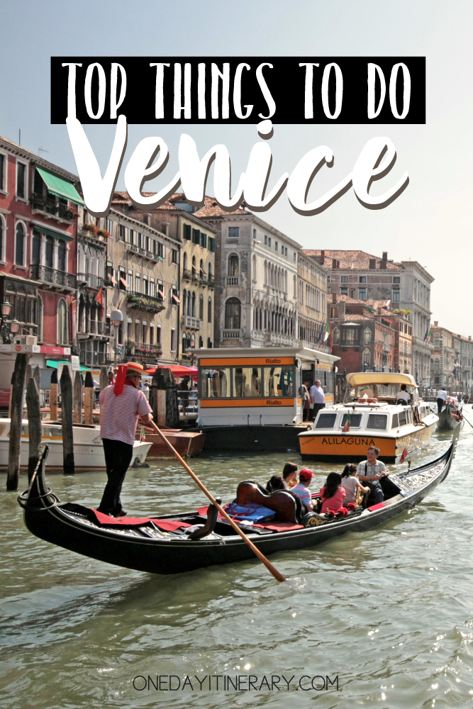 Venice Italy Top things to do