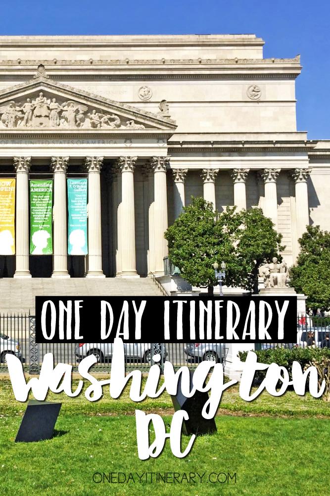 Washington D.C. One day itinerary