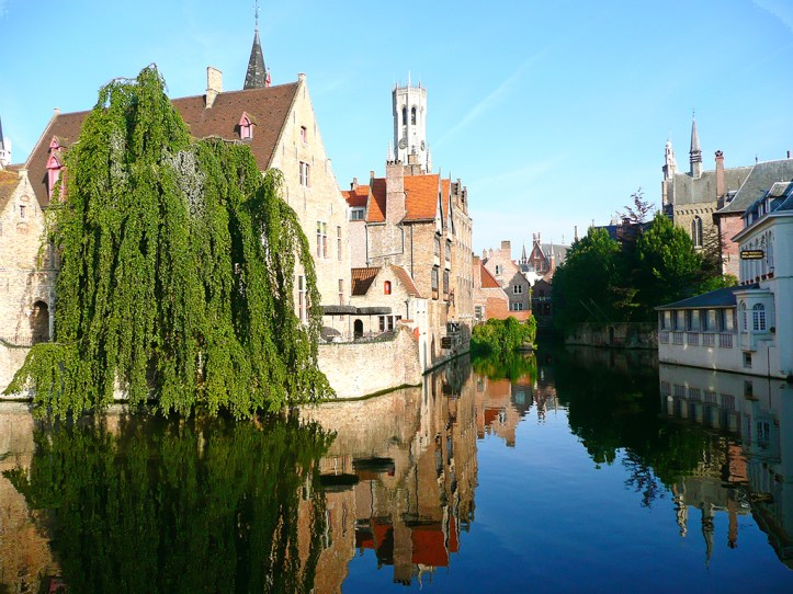 Bruges in the Summer
