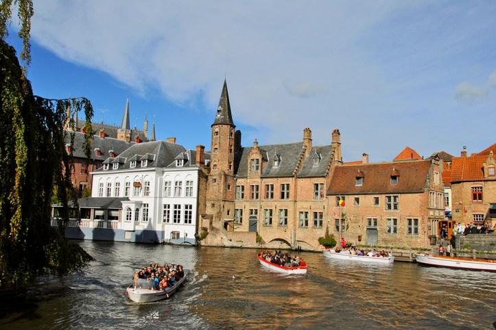 Canal Boat Tour, Bruges