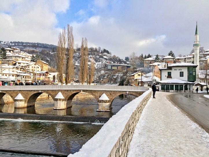 House of spite in Sarajevo