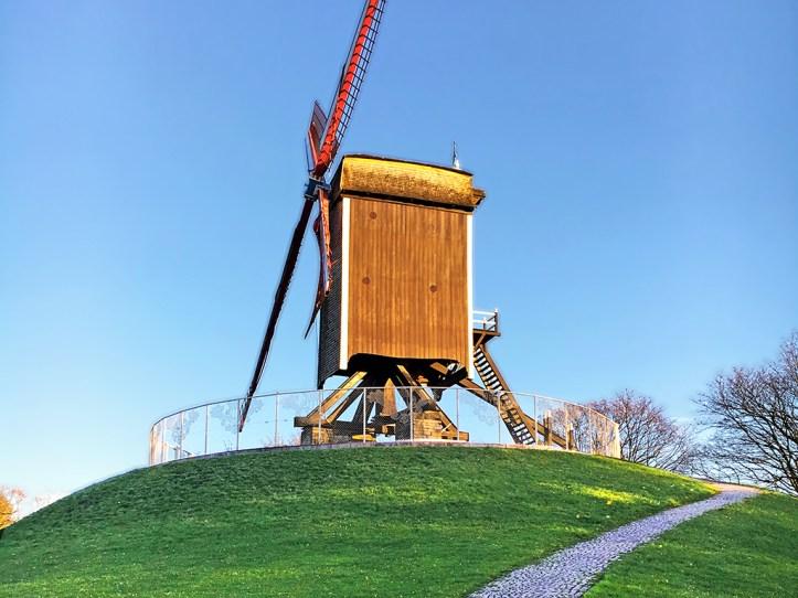 Kruisvest windmills Bruges