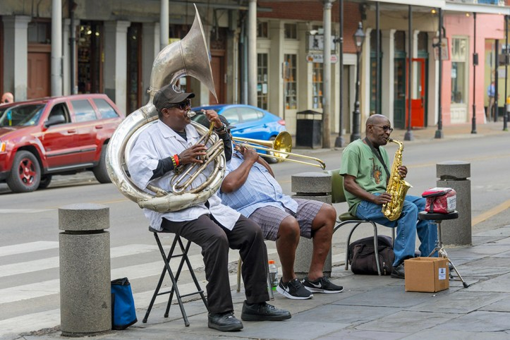 Street musicians, New Orleans
