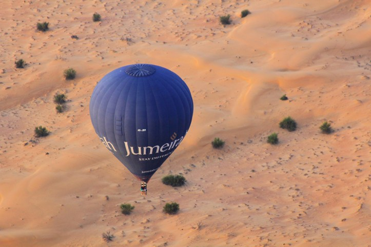 Hot Air Balloon, Dubai