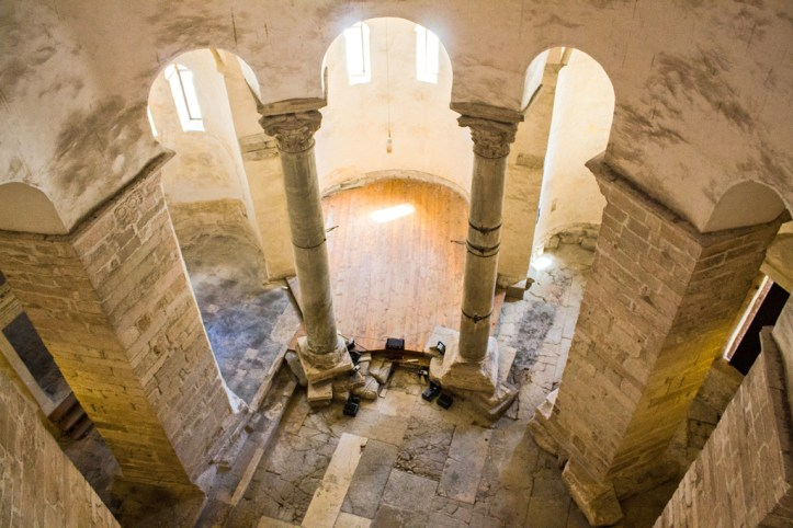 Interior Saint Donatus Zadar