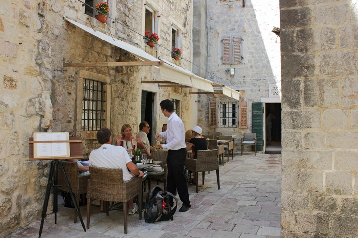 Old Town Restaurants, Kotor