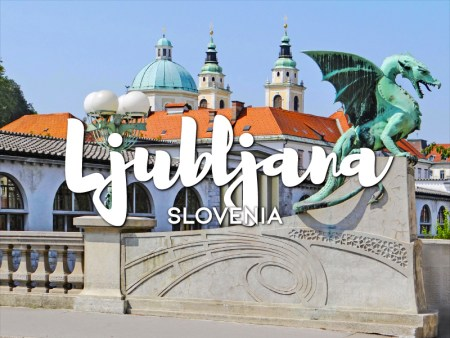 One day in Ljubljana Itinerary