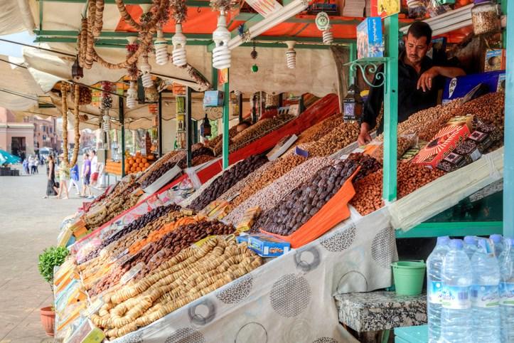 Jemaa El Fna Food Stalls, Marrakesh