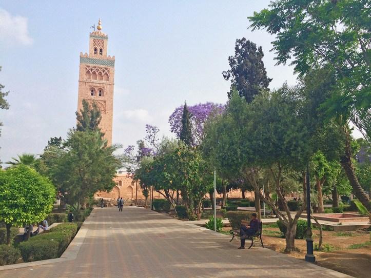 Koutoubia Mosque Minaret Marrakesh