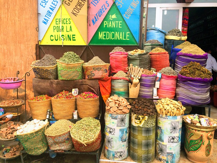 Spices in Marrakesh