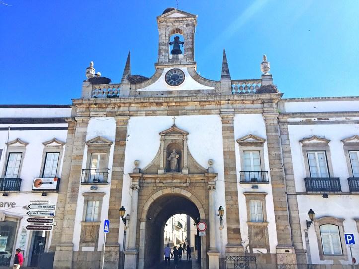 Old Town Gate Faro Portugal