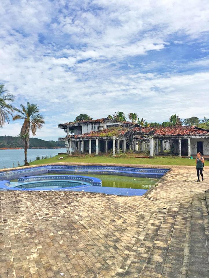 Pablo Escobar Lakeside residence