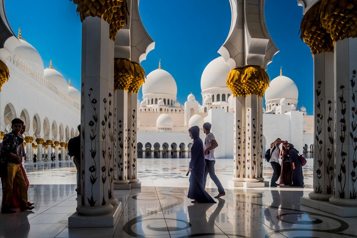 Sheikh Zayed Mosque interior, Abu Dhabi