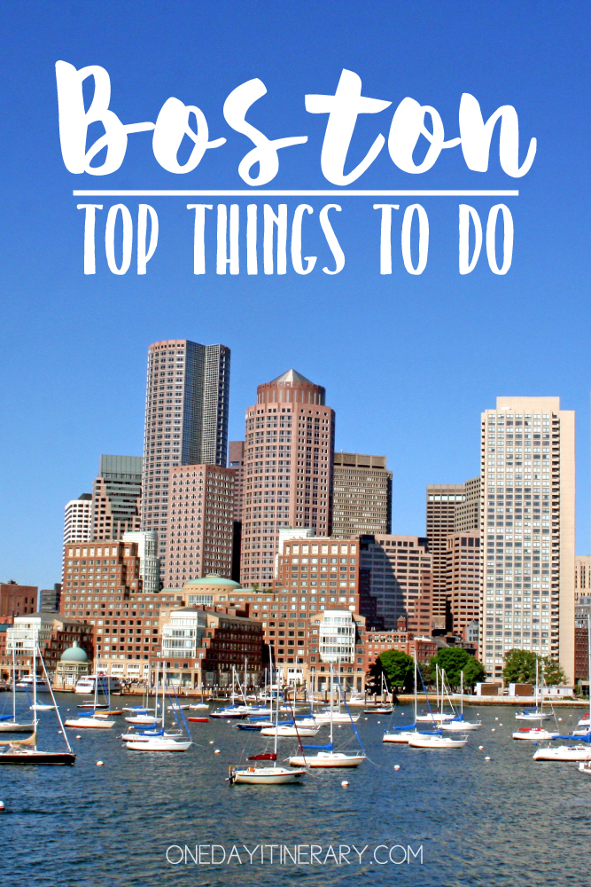 Boston USA Top things to do