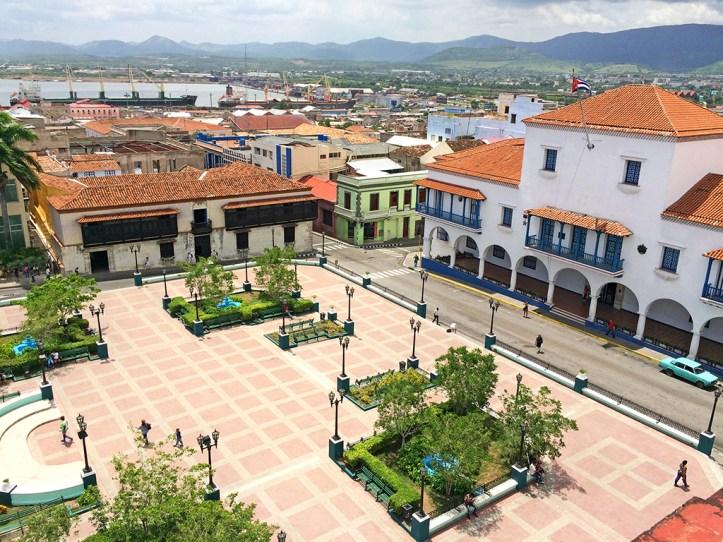 Cespedes Park Santiago de Cuba