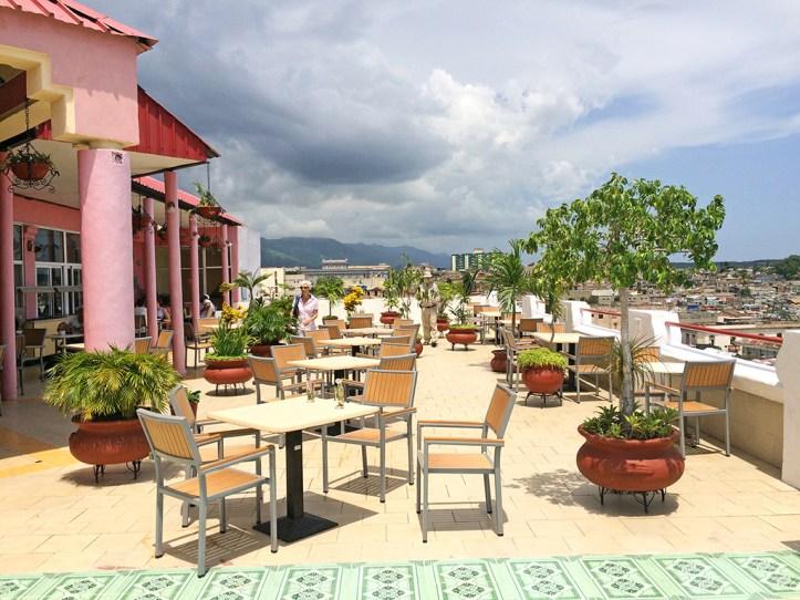 Hotel Casa Granda Roof Terrace Santiago de Cuba