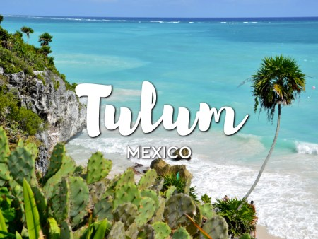 One day in Tulum Itinerary