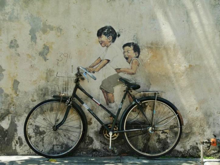 Street Murals, Penang
