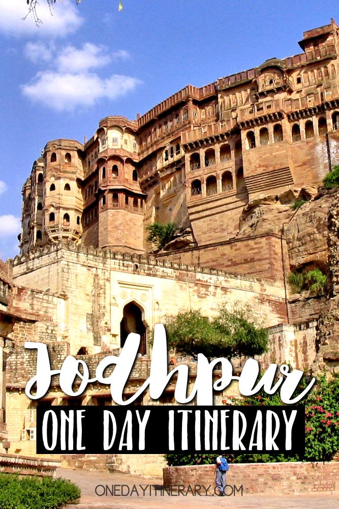 Jodhpur India One day itinerary