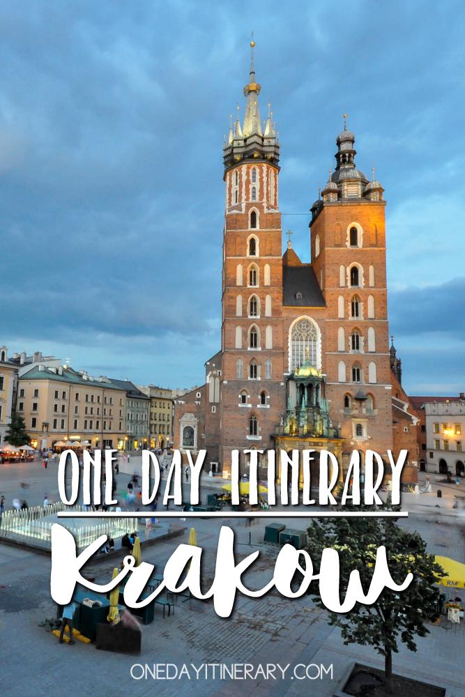 Krakow Poland One day itinerary