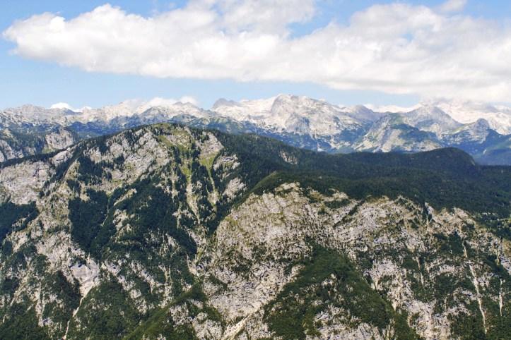 Julian Alps from Vogel