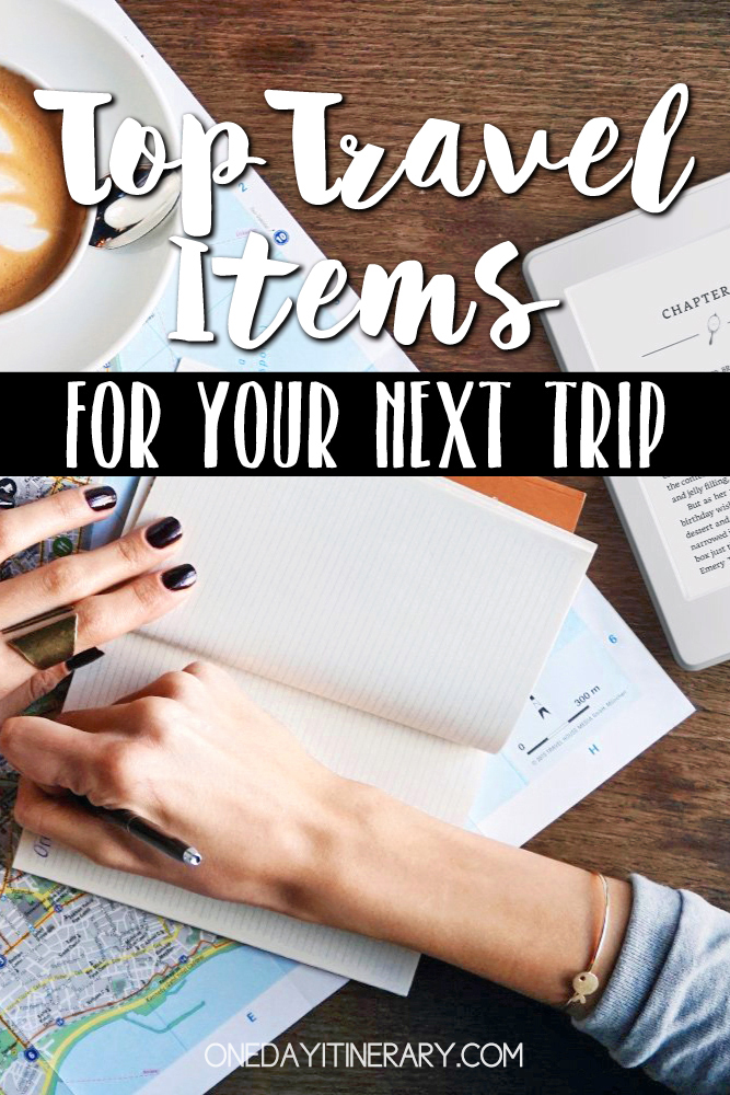 Top travel items 2018