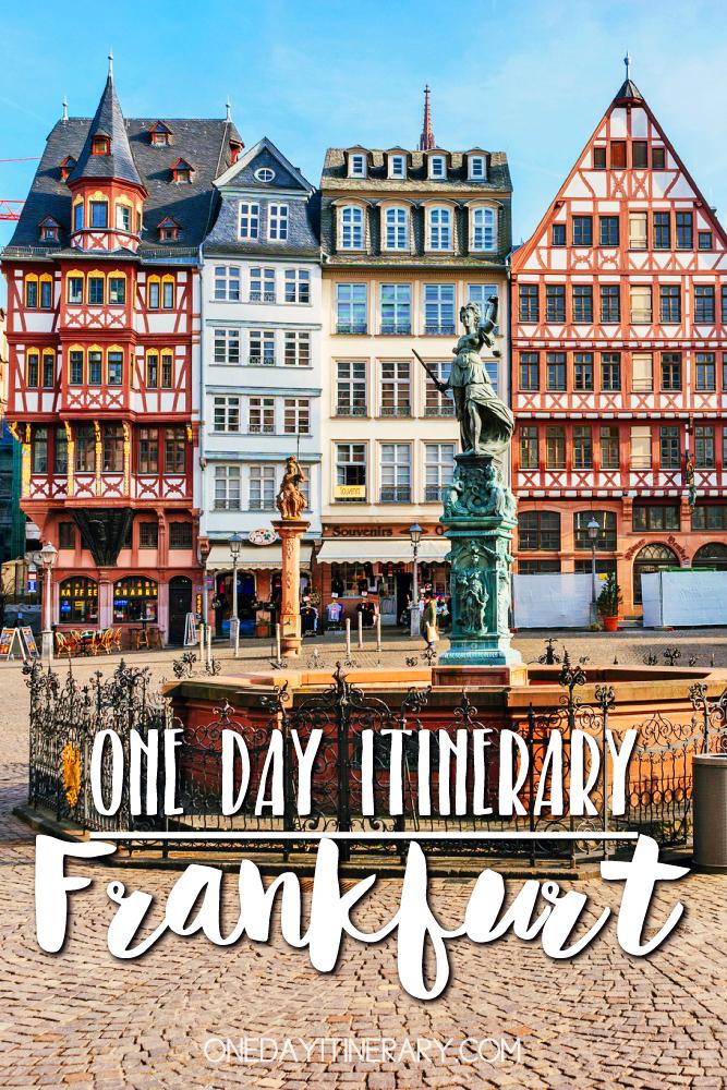 Frankfurt Germany One day itinerary