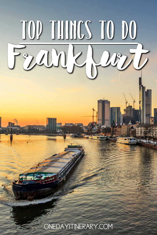 Frankfurt Germany Top things to do