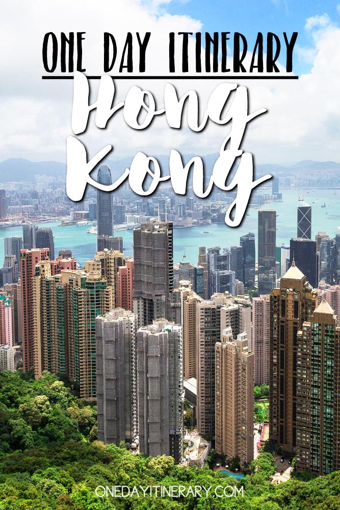Hong Kong One day itinerary