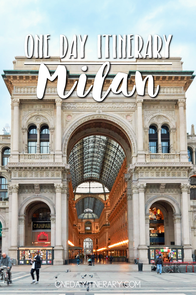 Milan Italy One day itinerary