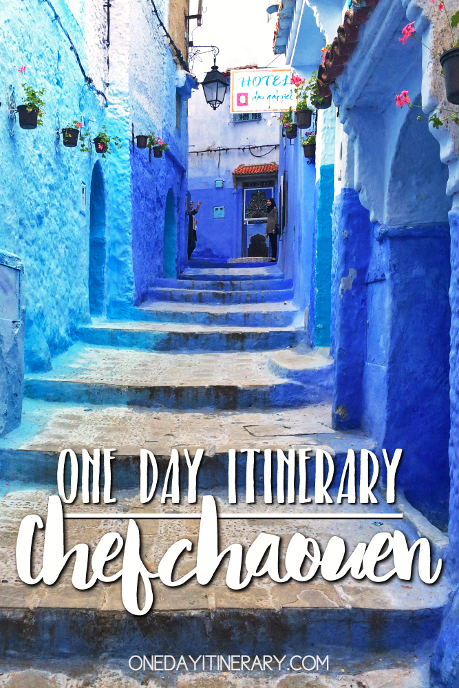 Chefchaouen Morocco One day itinerary