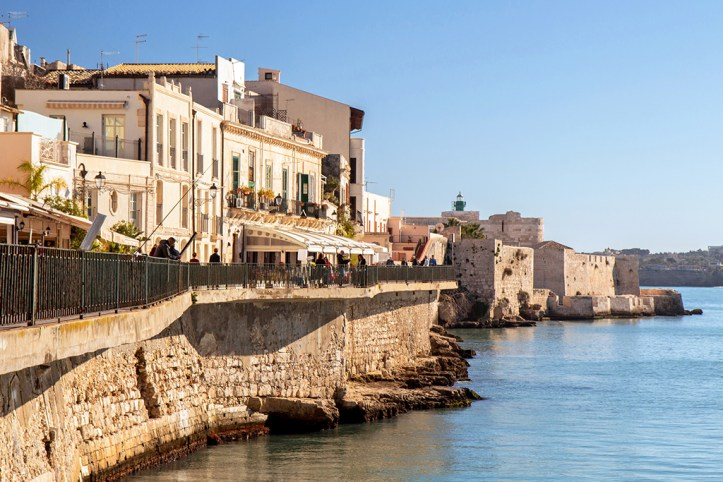 Seaside promenade Syracusa