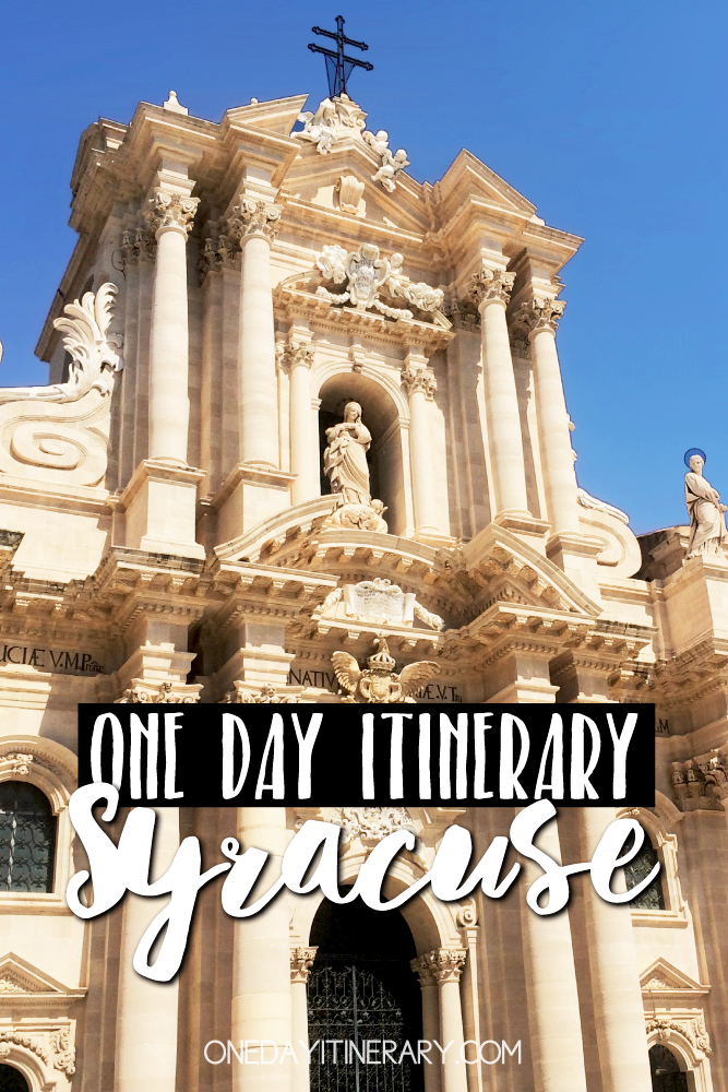 Syracuse Italy One day itinerary