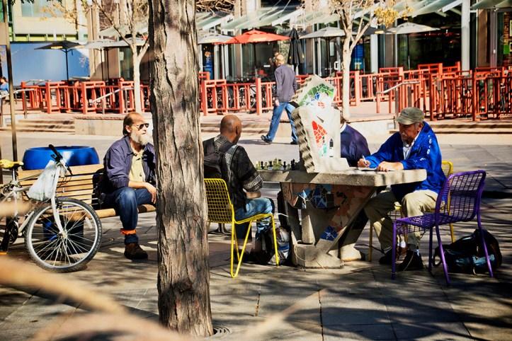 Street life in Denver