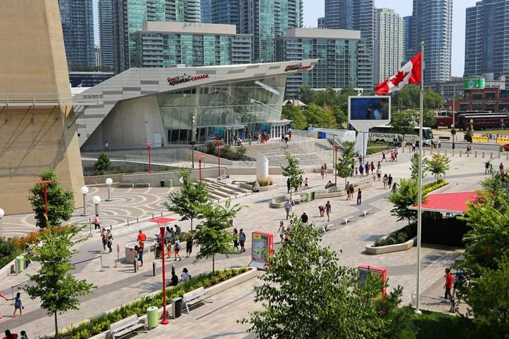 CN Tower Entrance