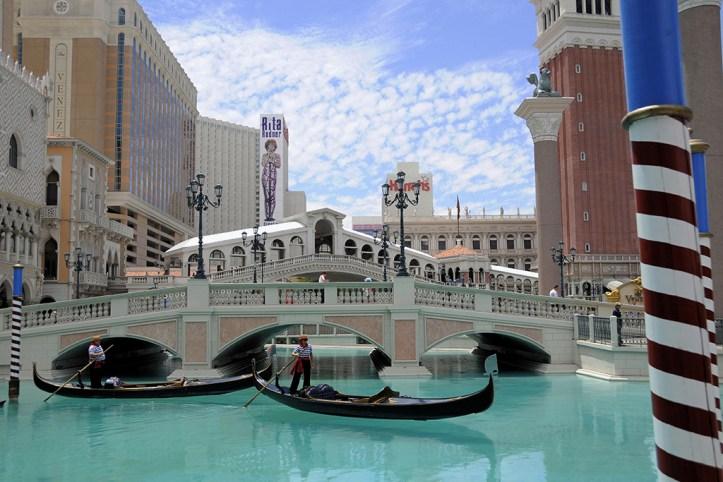 The Venetian Gondola Ride