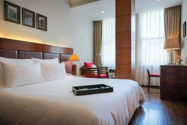 Hanoi E Central Hotel Room
